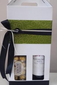Wine and Choccies giftbox