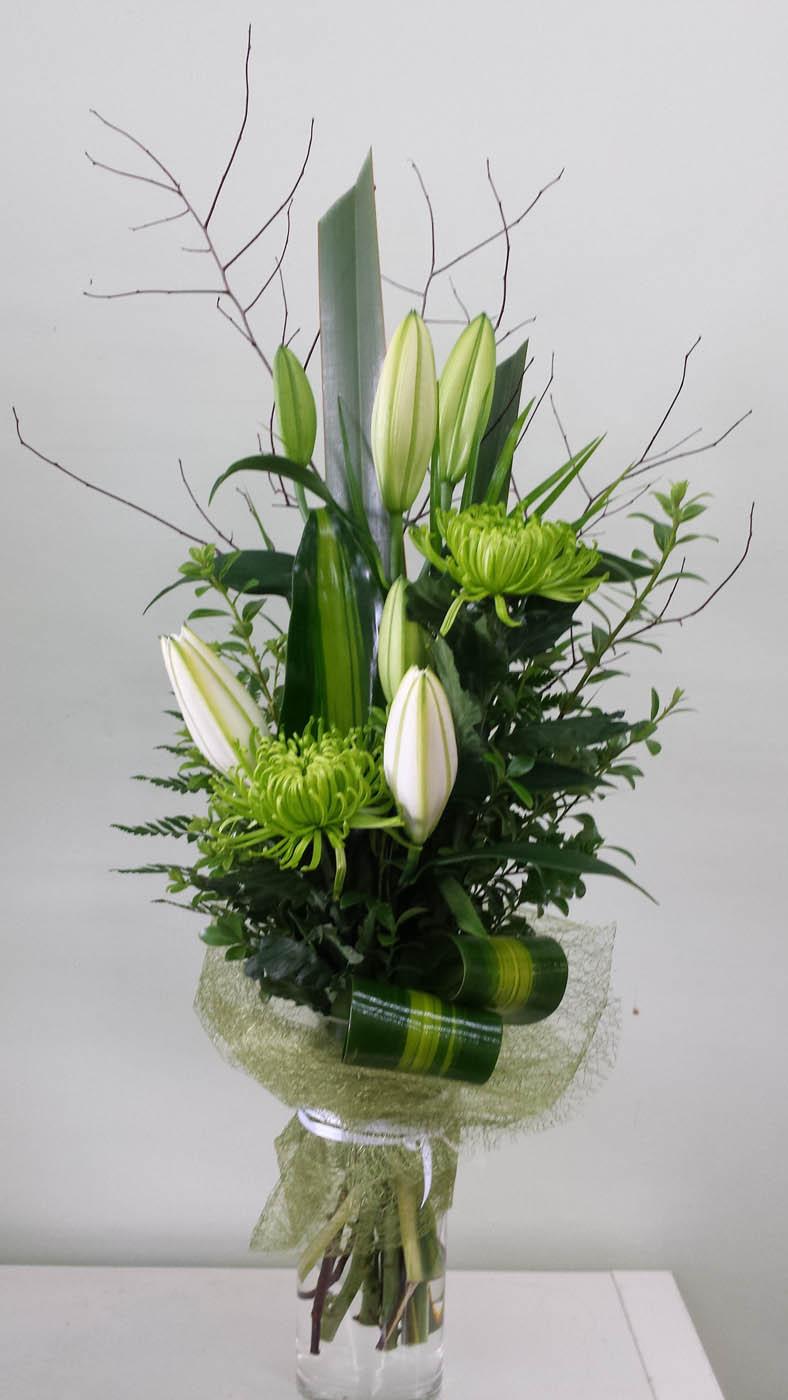 Elegant Vase Arrangement Pastel Adelaide Hills Delivery