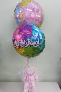 Extra gifts Balloons, Bears, Chocolates