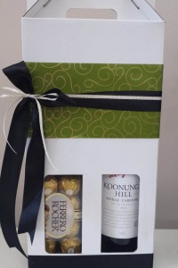 Wine and Choccies giftbox