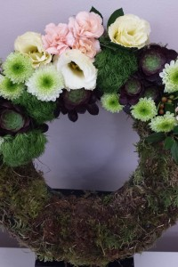 Cluster style wreath
