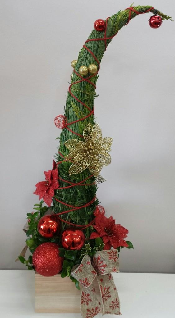 Corporate Christmas counter design