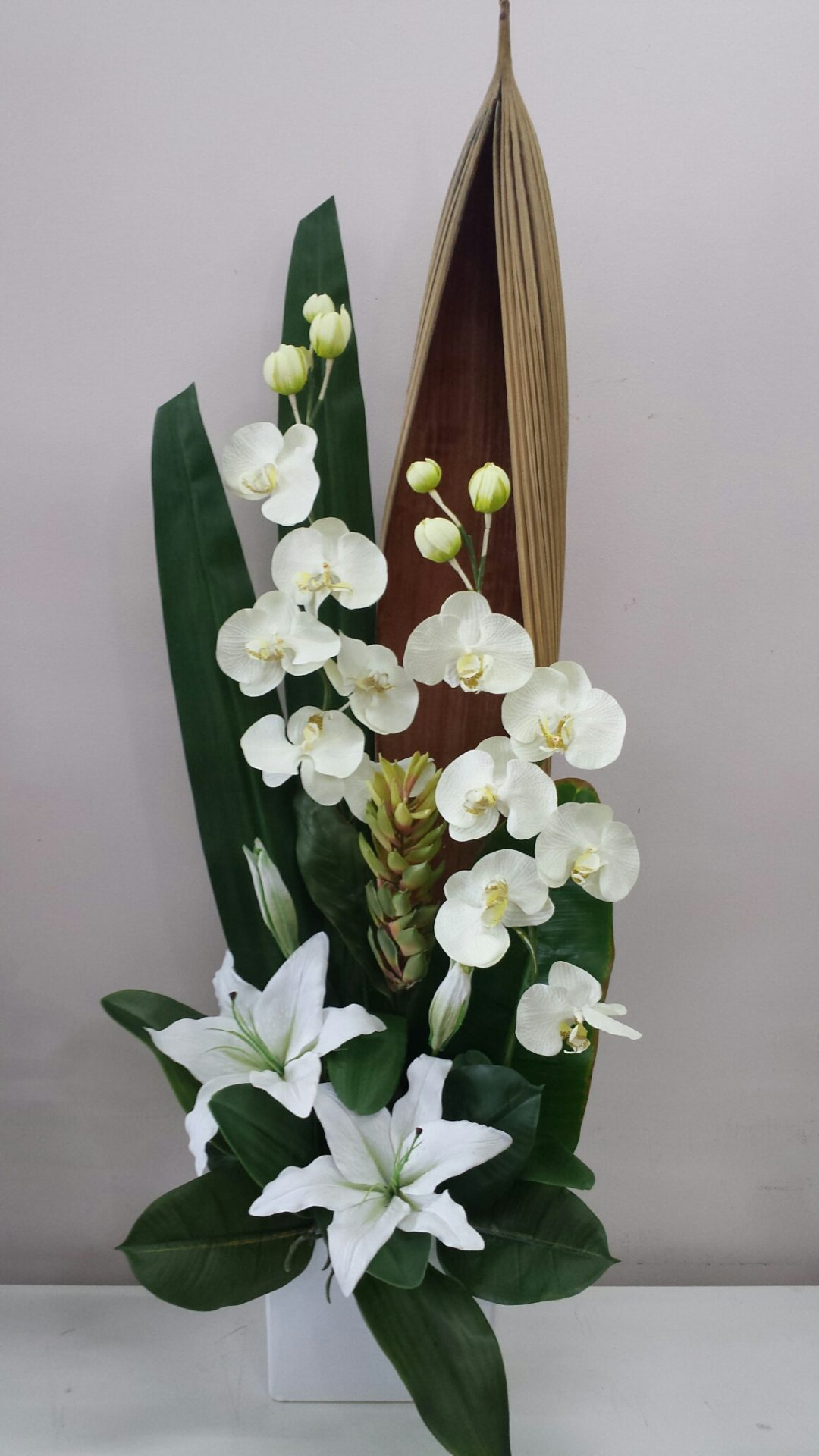 Artificial flowers online adelaide hills delivery orchid ginger flower oriental lily design mightylinksfo