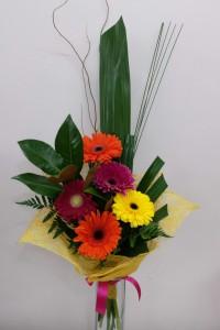 Modern Gerbera Bouquet