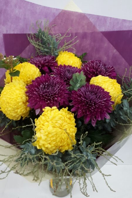 Colourful Chry's bouquet
