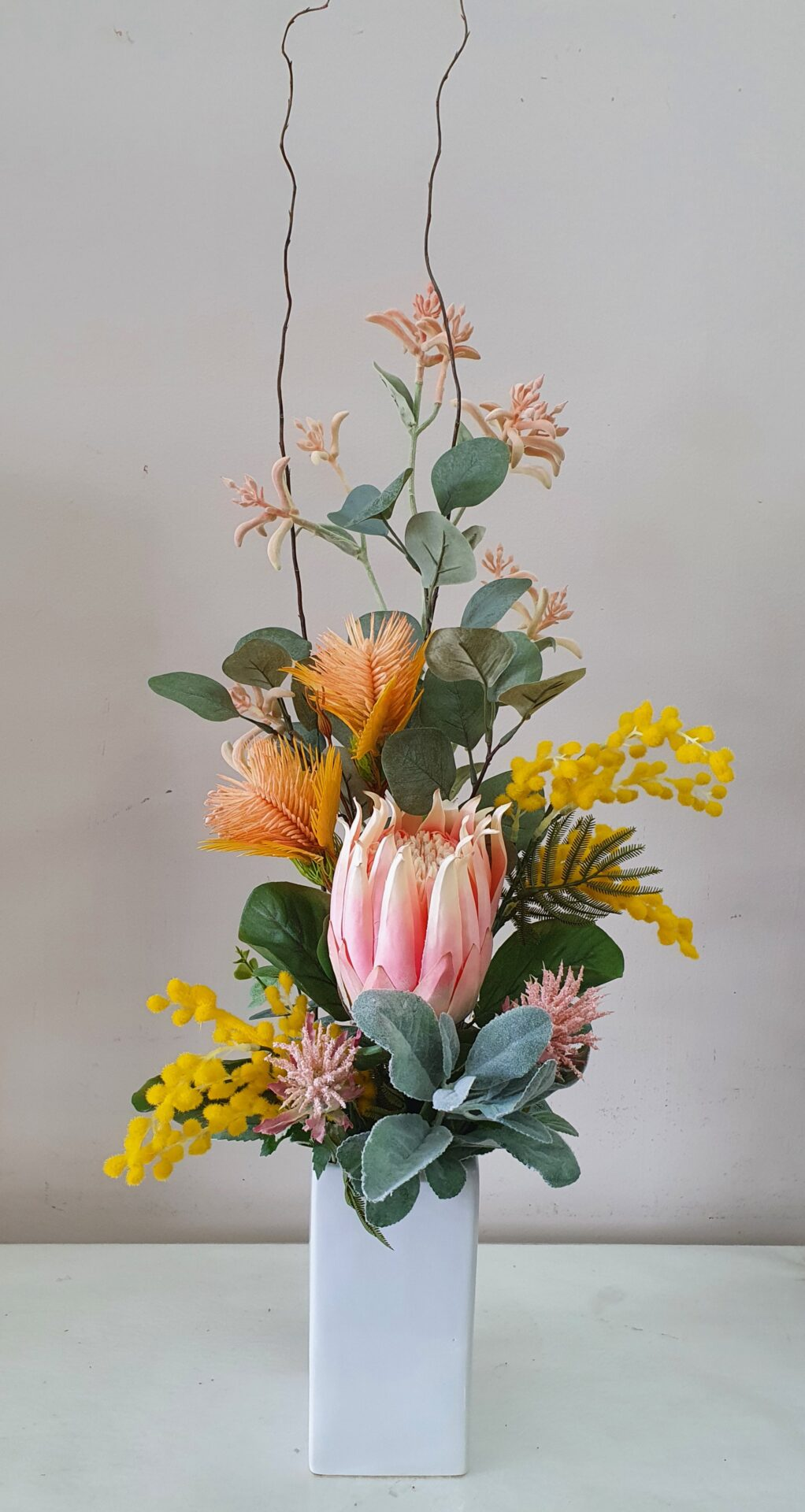 Artificial native flowers