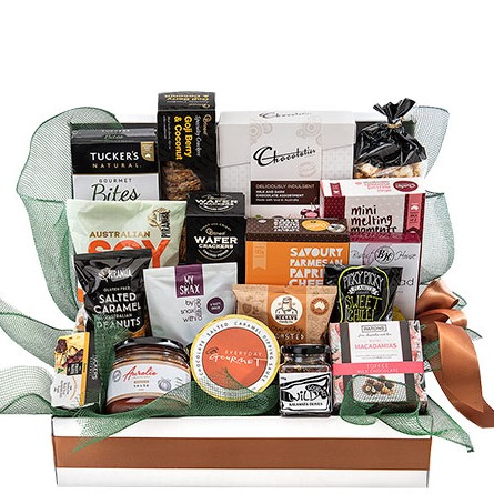 large sweet and savoury hamper